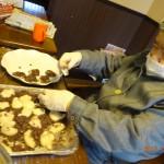 婦人会の皆様の活躍で今年も美味しいお餅をいただきました