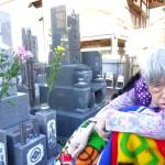津島のお墓参りに来ました