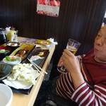 毎年恒例のおなじみのお寿司屋さん