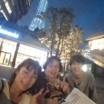 念願の夜のスカイツリー感動!